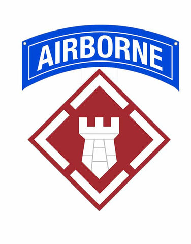 20th Engineer Brigade Airborne Sign