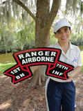 1st Ranger Old Scroll Sign