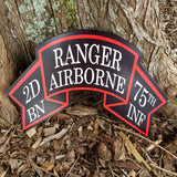 2nd Ranger Old Scroll Sign