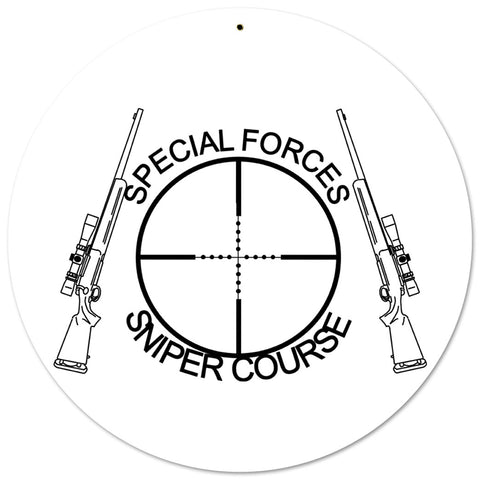 Special Forces Sniper Sign