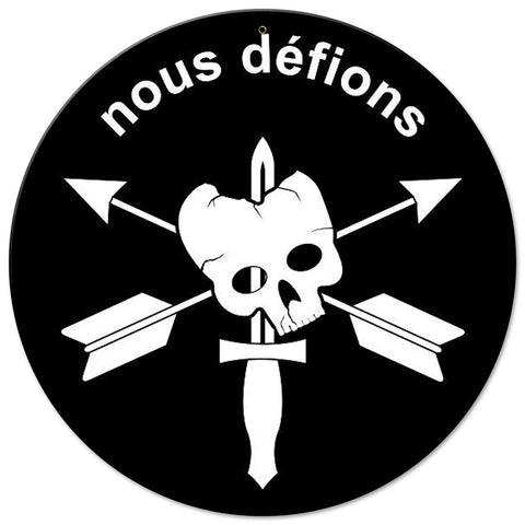 Special Forces Nous Defions Sign