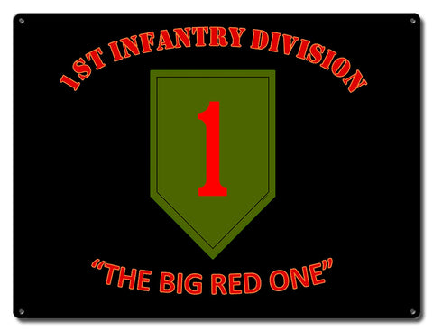 1st Infantry Division Big Red One