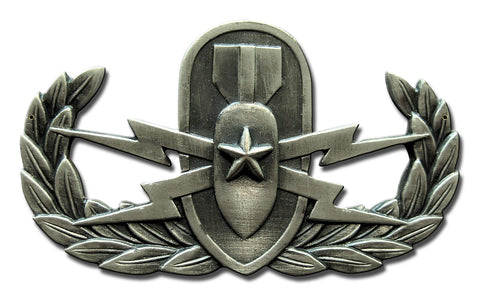 Expert EOD Ordnance Badge Sign