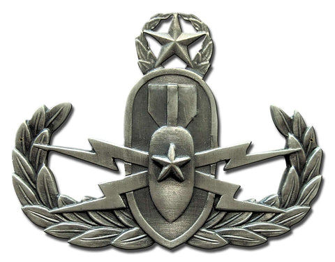 Master EOD Ordnance Badge Sign