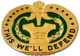 Drill Sergeant Badge Sign