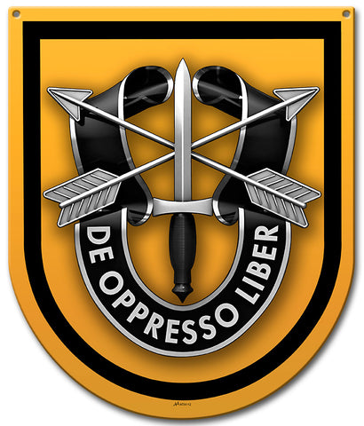 Special Forces 1st Group Sign Small