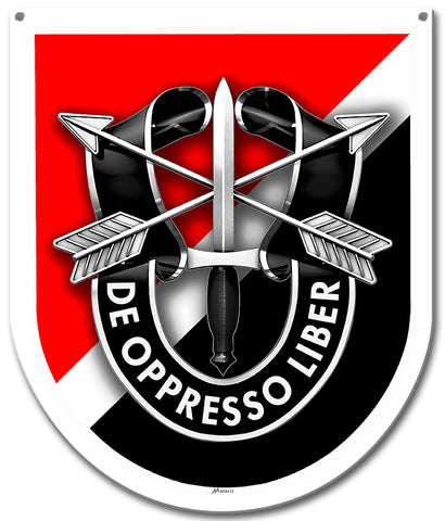Special Forces 6th Group Sign Small