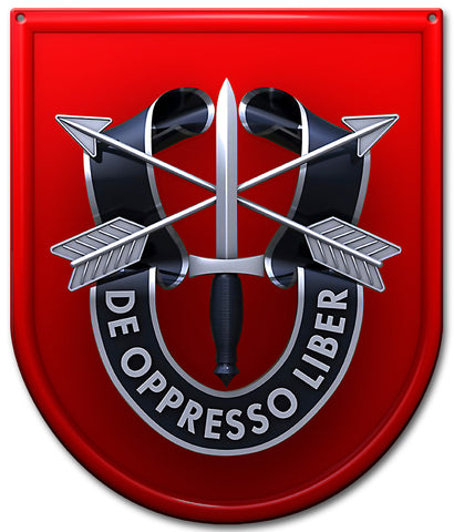 Special Forces 7th Group Sign Small