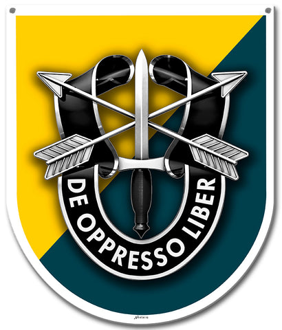 Special Forces 8th Group Sign Small
