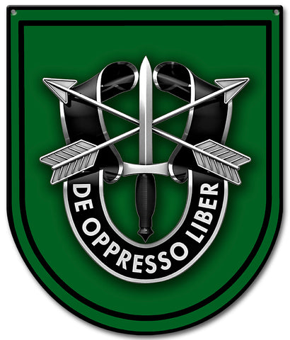Special Forces 10th Group Sign Small