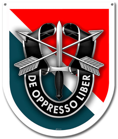 11th Special Forces Group Sign