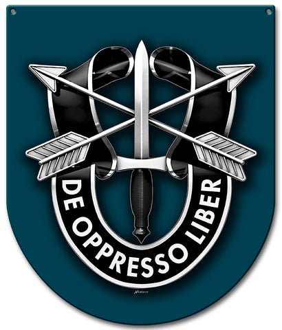 Special Forces 19th Group Sign Small