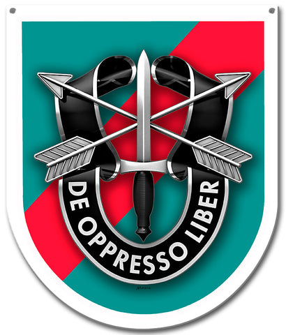 Special Forces 20th Group Sign Small