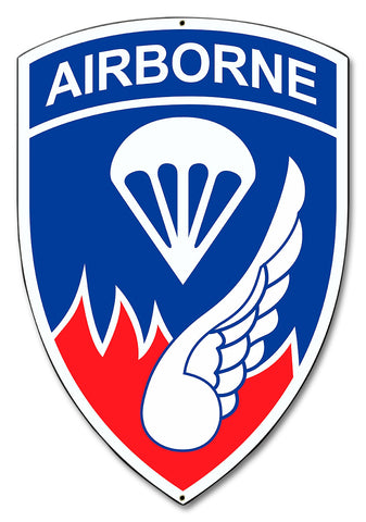 187th Airborne Infantry Regiment Sign
