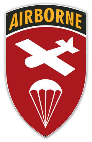 Airborne Command WWII Sign