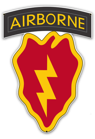 4th Brigade Combat Team Airborne 25th ID Sign