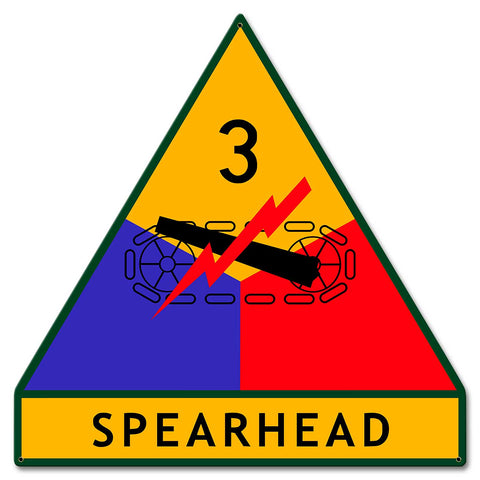 3rd Armored Division Sign