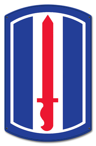 193rd Infantry Division Sign