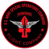 USASOC Flight Company Sign