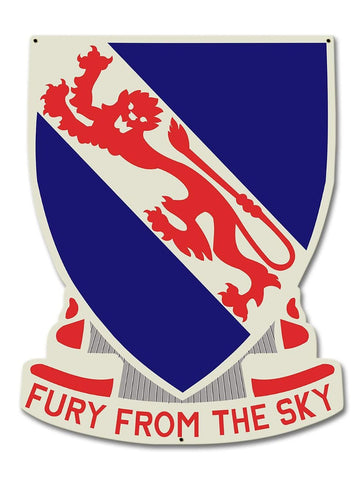 508th Airborne Metal Sign