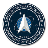 "US Space Force Sign 10"" Round"