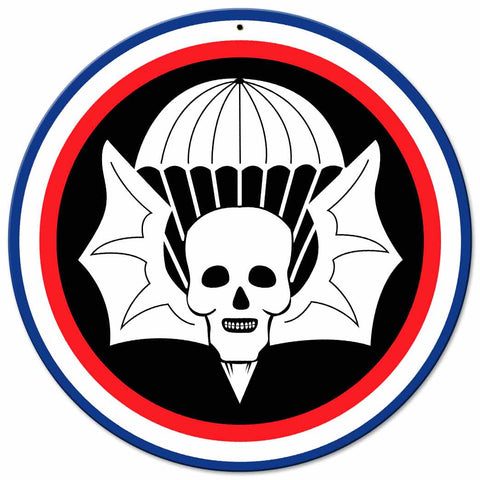 502nd Parachute Infantry Regiment Sign