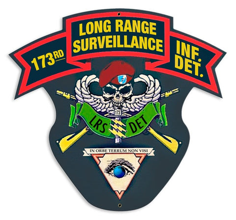 173rd Long Range Surveillance Sign