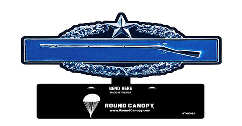 Infantry Badge Combat 2nd Award Table Sign