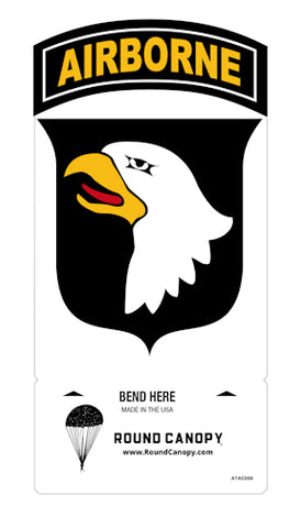 101st Airborne Division Table Sign