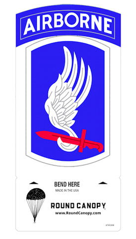 173rd Airborne Brigade Table Sign