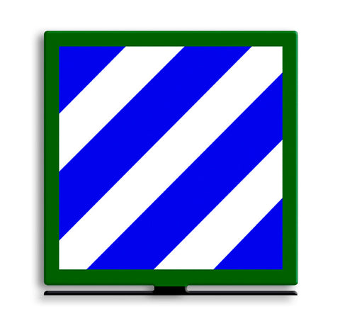 3rd Infantry Division Table Top Sign