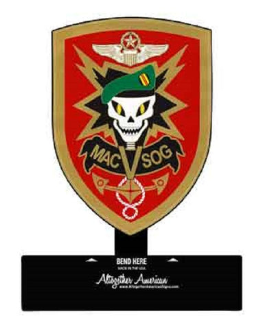 MACVSOG Table Top Sign