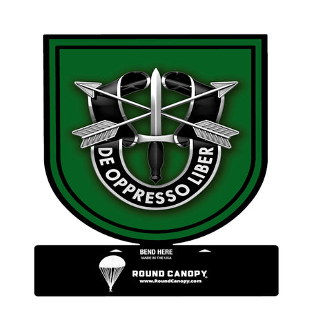 Special Forces 10th Group Table Sign