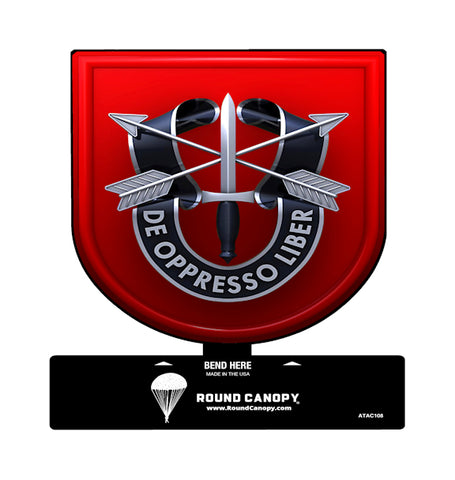 Special Forces 7th Group Table Sign