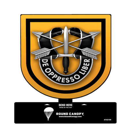 Special Forces 1st Group Table Sign