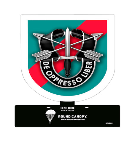 Special Forces 20th Group Table Sign