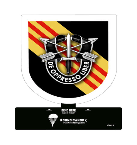 Special Forces 5th Group Table Sign 1964-1985, 2016-Present