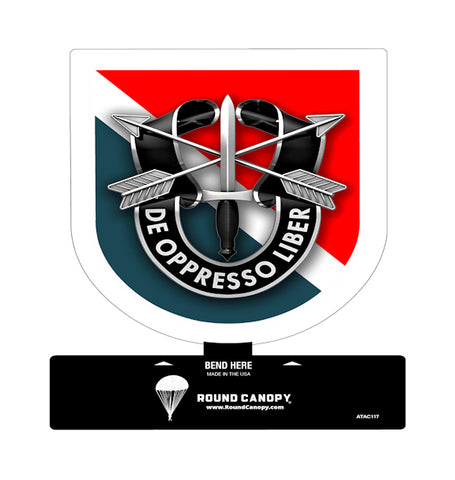 Special Forces 11th Group Table Sign