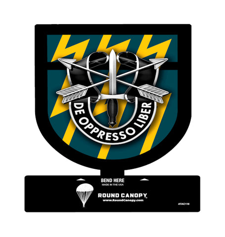 Special Forces 12th Group Table Sign