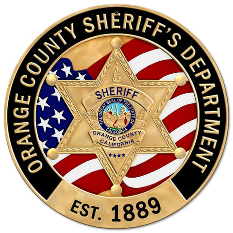 Orange County Sheriff's Dept Sign