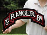 3rd Ranger Scroll Sign