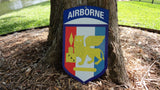 3/325th SETAF Airborne Metal Sign