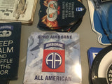 82nd Airborne All American Sign