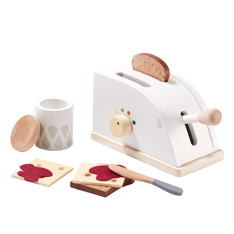 Kids Concept <br/> Toaster <br/> Weiss/Bunt