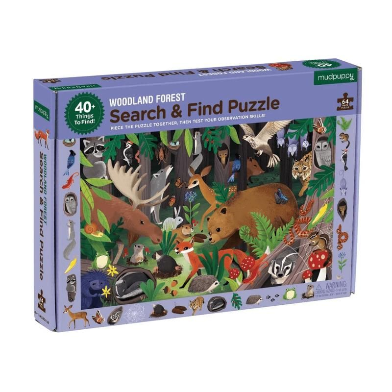 "Mudpuppy <br/> Puzzle ""Search & Find"" <br/> Woodland Forest"