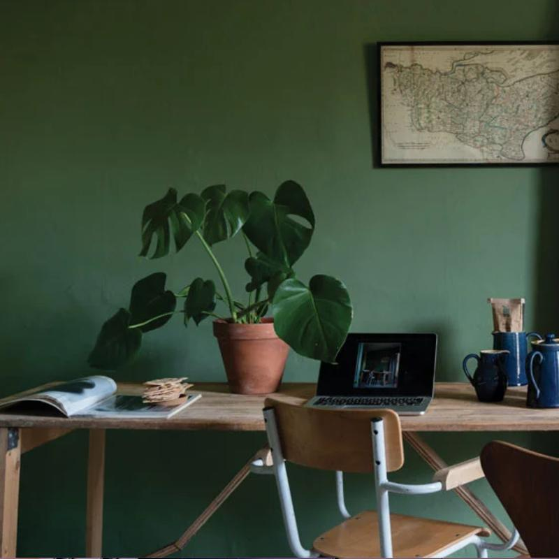 Farrow & Ball <br/> Modern Emulsion <br/> Calke Green 34