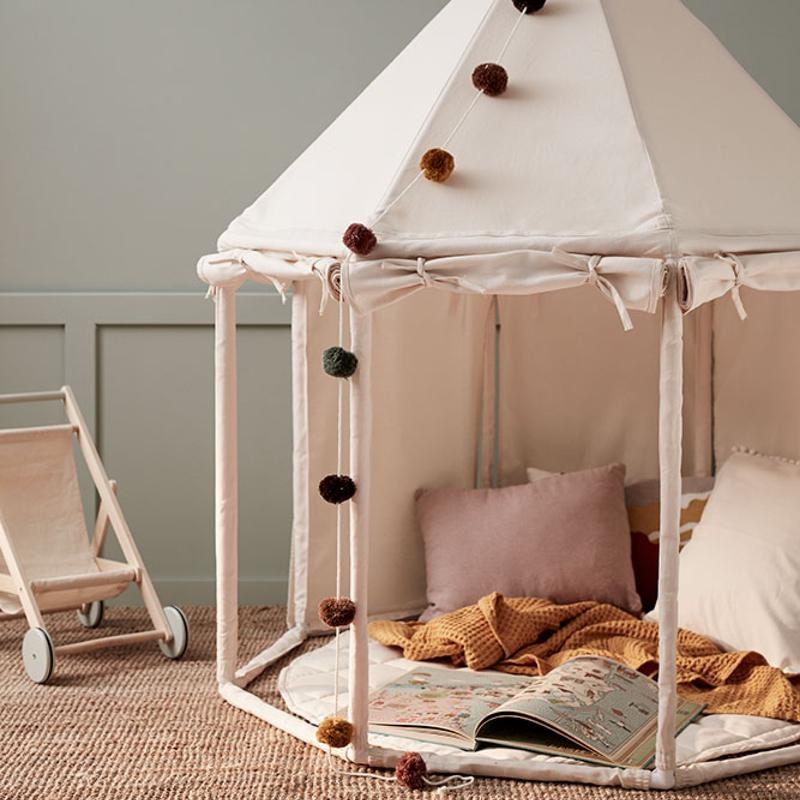 Kids Concept <br/> Spielhaus Pavillon <br/> Off-white