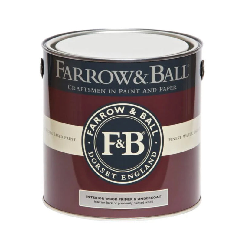 Farrow & Ball <br/> Interior Wood Primer & Undercoat <br/> White and Light Tones