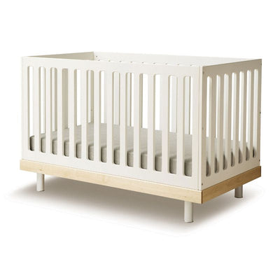Oeuf NYC <br/> Babybett Classic <br/> Birke/Weiss,Babybetten, Oeuf NYC - SNOWFLAKE kindermöbel concept store