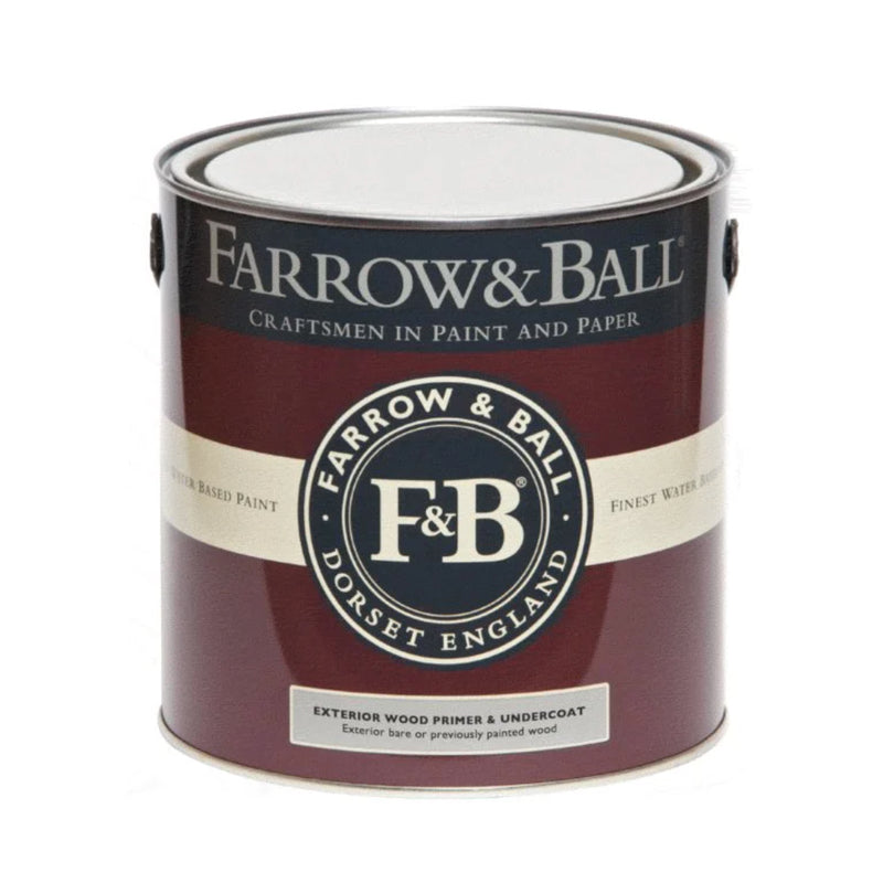 Farrow & Ball <br/> Exterior Wood Primer & Undercoat <br/> White and Light Tones